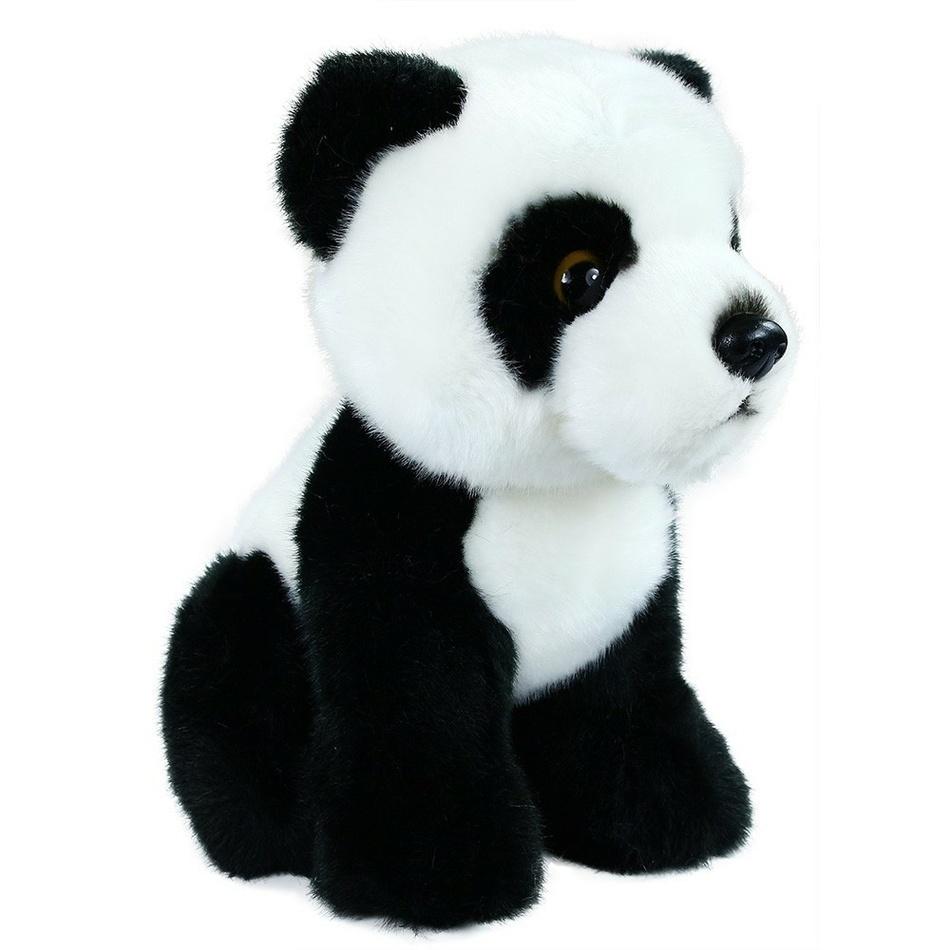 Rappa Plyšová panda sedící, 18 cm