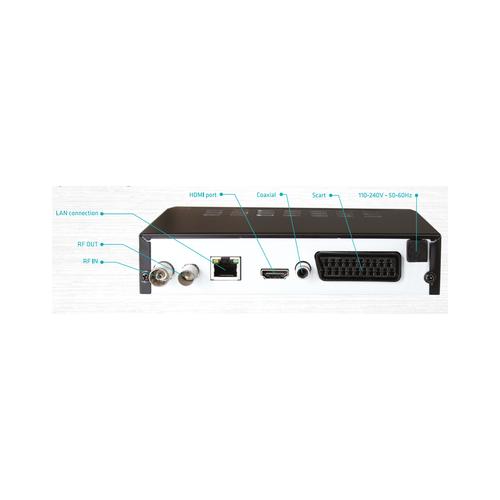 Maxxo T2 HEVC/H.265 Set-top box Senior