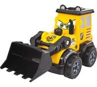 Stavební auto - Bagr, Buddy Toys, černá + žlutá