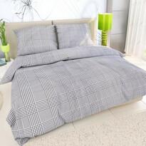 Lenjerie de pat Sophia alb-negru