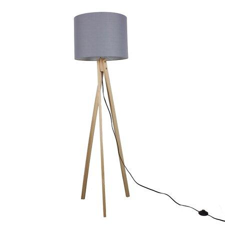 Stojací lampa Lila 7, šedá