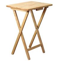 Fa összecsukható szék, természetes színű