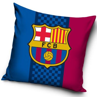 Polštářek FC Barcelona Trio, 40 x 40 cm