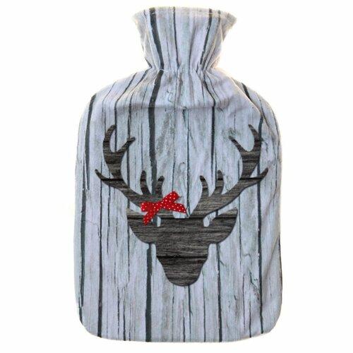 Termolahev s fleecovým obalem Reindeer head, 2 l