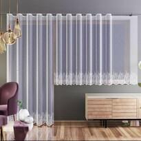 Záclona Nela biela, 250 x 120 cm