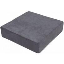 Pernă de scaun înaltă, gri, 40 x 40 x 10 cm