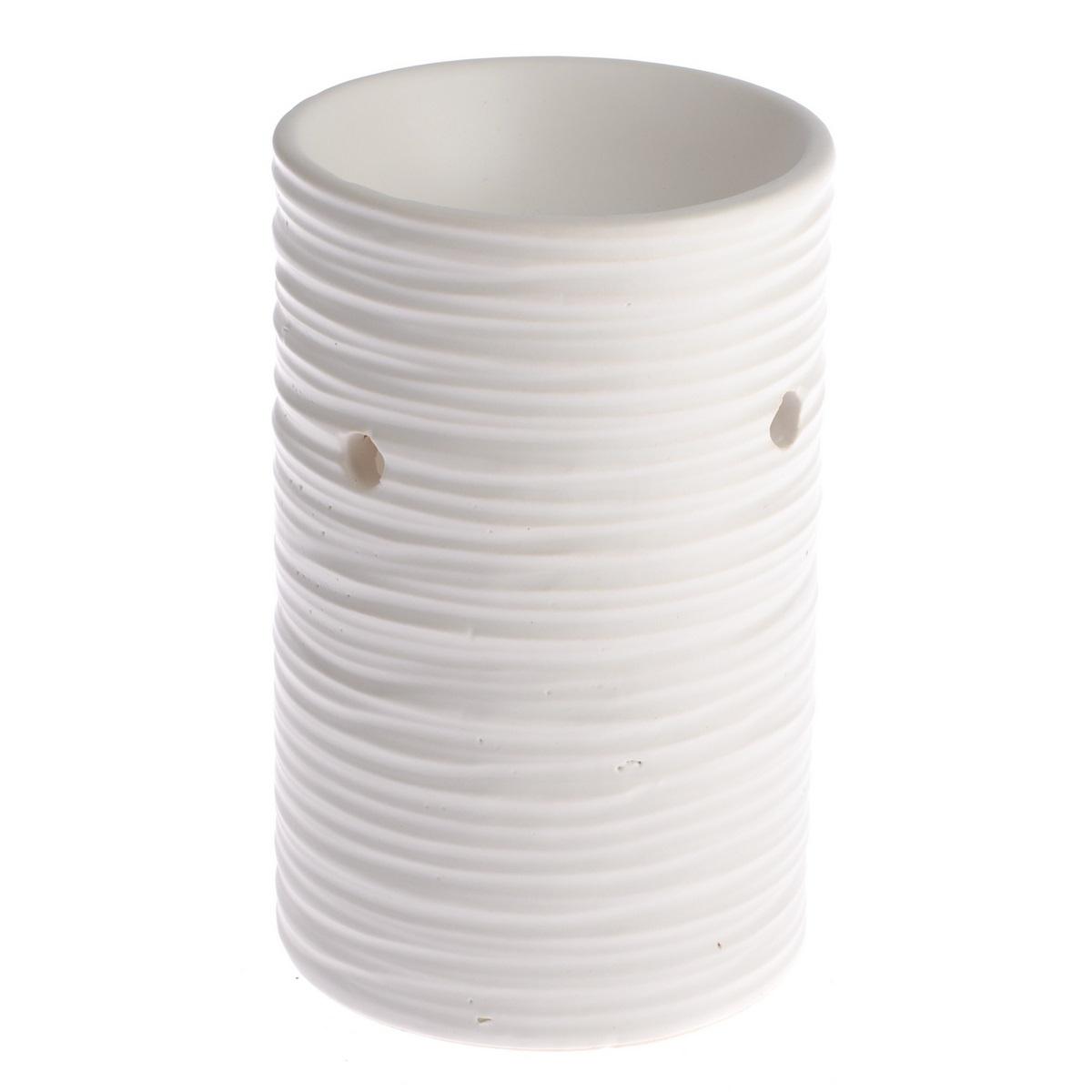 Keramická aromalampa Ronville, bílá