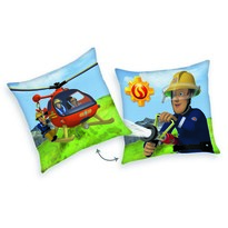 Sam, a tűzoltó Helikopter párna, 40 x 40 cm