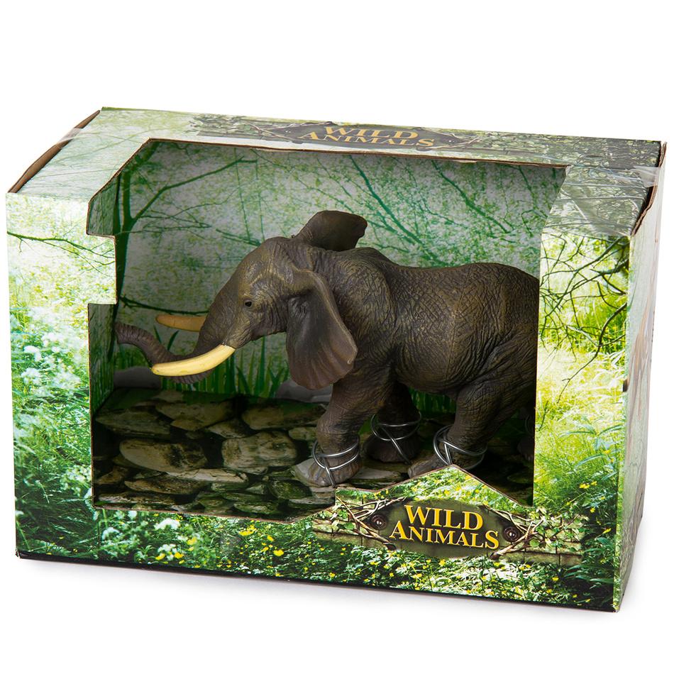 Slon sivá, 17 cm