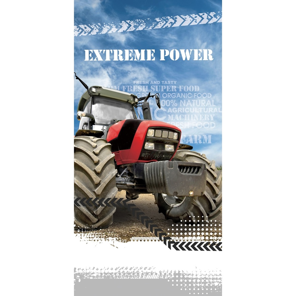CARBOTEX Osuška Traktor Extreme Power, 70 x 140 cm