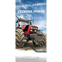 Osuška Traktor Extreme Power, 70 x 140 cm
