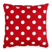 4Home Povlak na polštářek Červený puntík, 40 x 40 cm, sada 2 ks