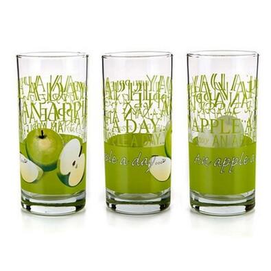 3-dílná sada sklenic APPLE