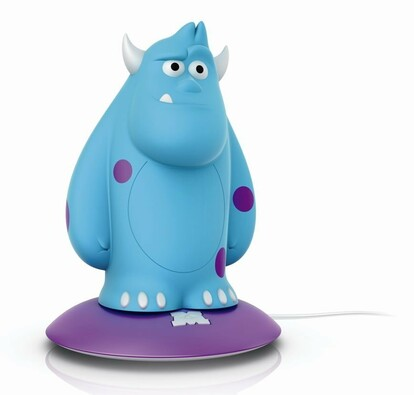 Philips dětská lampa Monsters Sulley