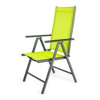 Happy Green Zahradní polohovací židle Ramada zelená