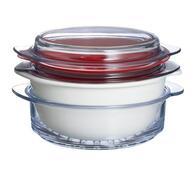 Multifunkční sada nádobí na vaření  Multicook , Py, bílá