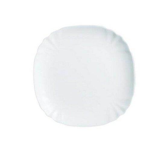 Dezertný tanier Lotusia sada 6 ks biela, 21 cm Luminarc