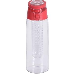 Sportovní plastová lahev Lena 650 ml, červená