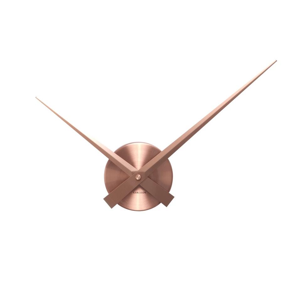 Karlsson 4348CO Designové nástěnné hodiny, 44 cm