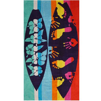 Plážová osuška Colour surf, 90 x 170 cm