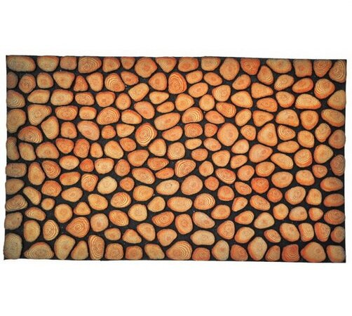 Venkovní rohožka Tree Rings, 40 x 60 cm