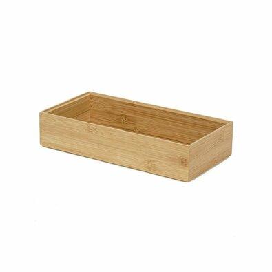 Compactor Organizator depozitare Bamboo Box XXL, 30 x 15 x 6,5 cm