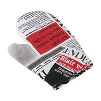 Mănușă Ema Ziare roșu, 18 x 28 cm