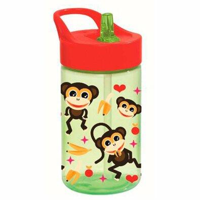 Florina Dětská plastová láhev Monkey, 430 ml