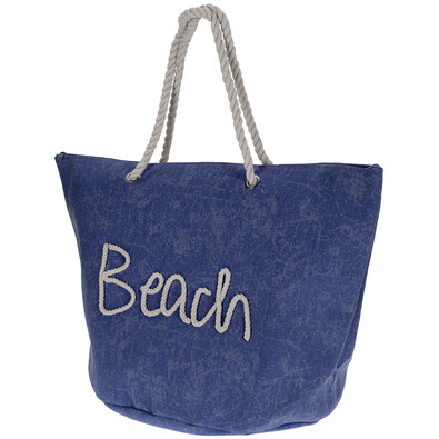 Geantă de plajă Beach, albastru