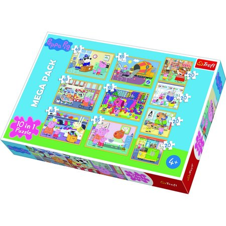 Trefl Puzzle Prasátko Peppa, 10 ks