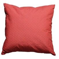 Obliečka na vankúšik Bodky červená, 45 x 45 cm