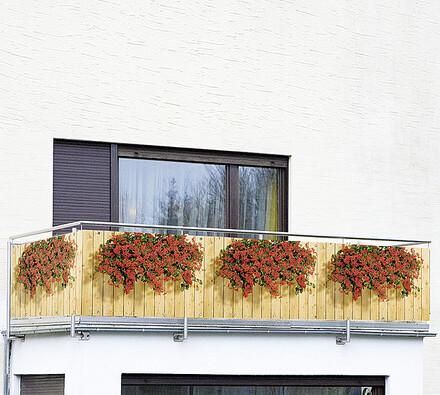 Wenko Zástěna na balkón muškáty