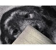 Vnitřní rohožka Štěňata, 40 x 60 cm, bílá + černá, 40 x 60 cm