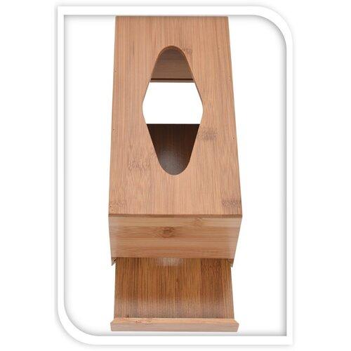 Bambusový box na kapesníky Lina, 24,5 cm