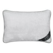 Vlnený vankúš Alpaka DUO, sivá, 40 x 60 cm