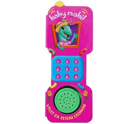 Baby mobil Výlet za tetou Leonou, vícebarevná