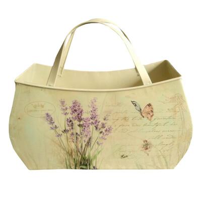 Plechová taška Levandule