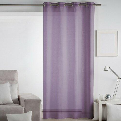 Matějovský Záclona Lilien fialová, 140 x 260 cm