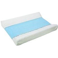 Protector impermeabil pentru masă de schimbarescutece, albastru, 25 x 100 cm