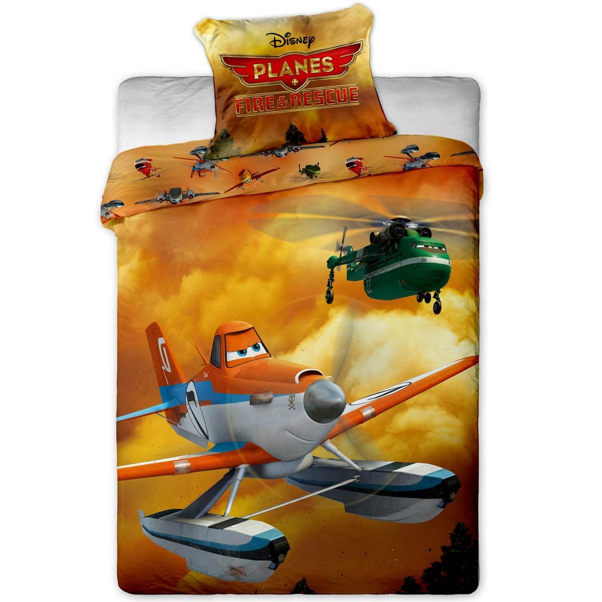 Jerry Fabrics Dětské bavlněné povlečení Planes 2, 140 x 200 cm, 70 x 90 cm