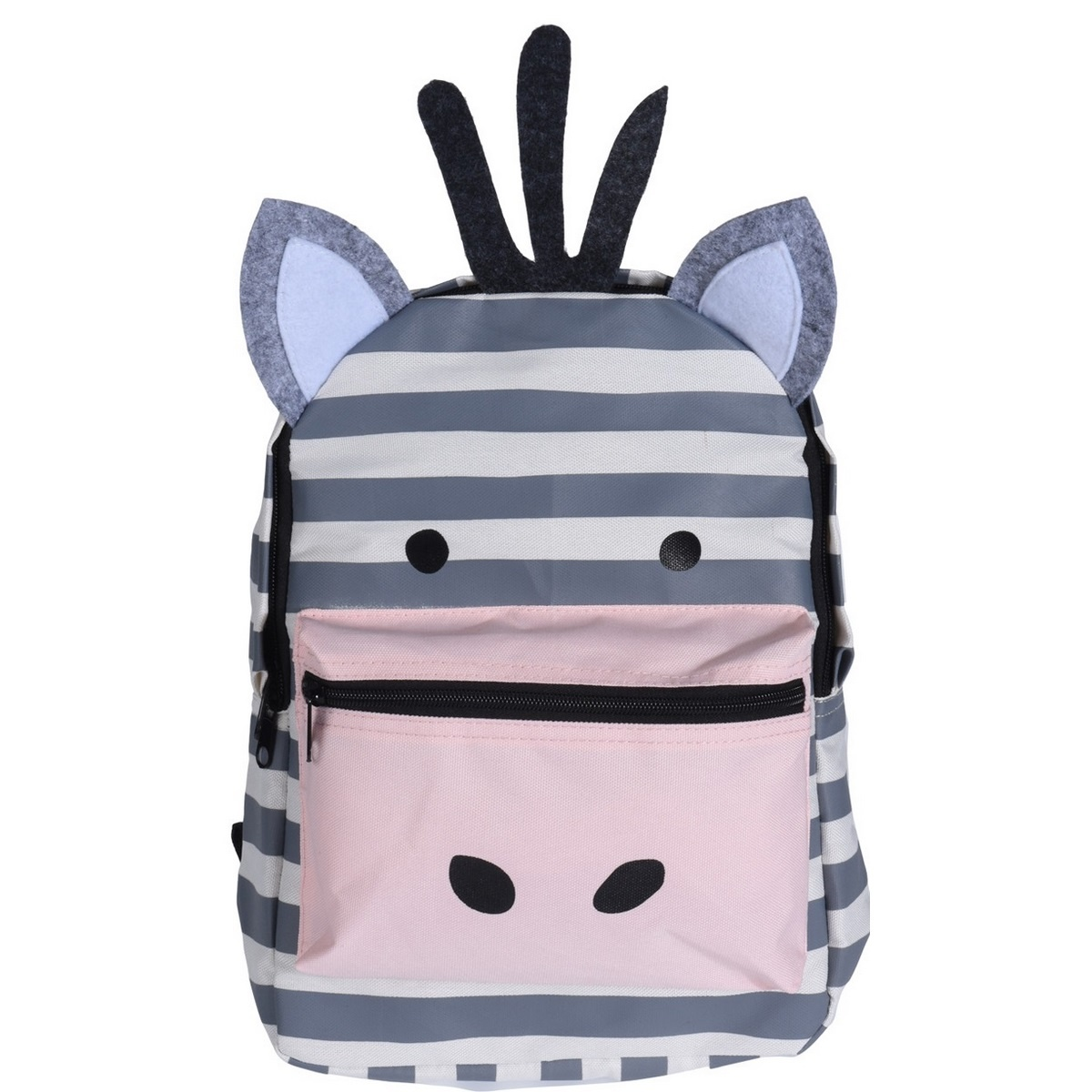 Koopman Dětský batoh Zebra, 22 x 8,5 x 32 cm