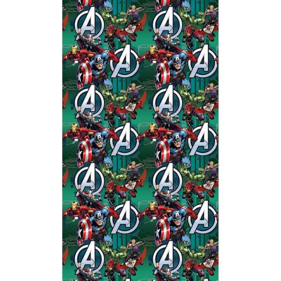 AG ART Detský záves Avengers, 140 x 245 cm