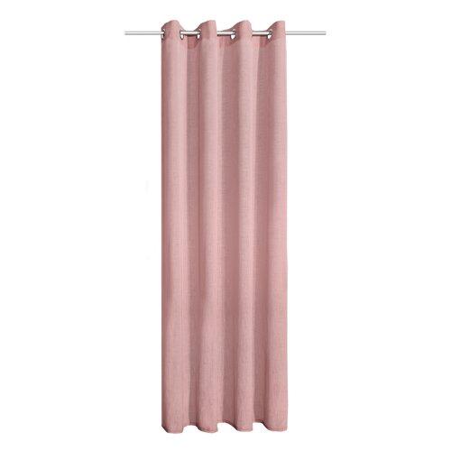 Albani Alex függöny karikákkal, rózsaszín, 245 x 140 cm