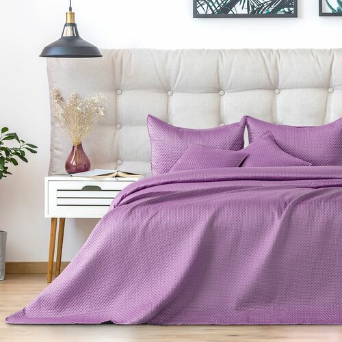 AmeliaHome Cuvertură de pat Carmen lilac, 220 x 240 cm