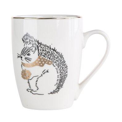 Altom Porcelánový hrnček Nordic Forest Squirrel 300 ml