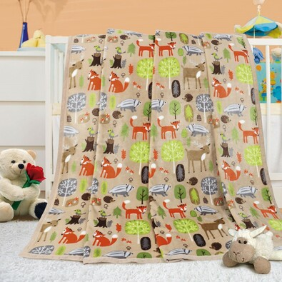 Detská deka Ella Lúčka, 100 x 155 cm