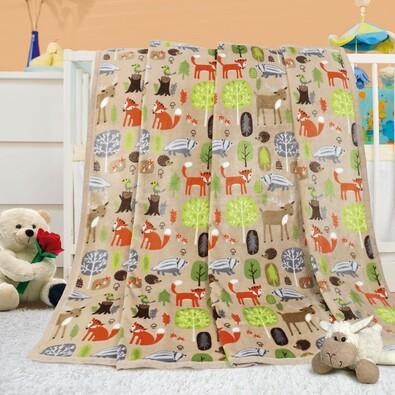 Pătură de copii Ella Poiană, 100 x 155 cm