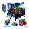 Samolepiaca dekorácia Avengers, 30 x 30 cm