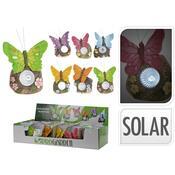 Solární svítidlo motýl