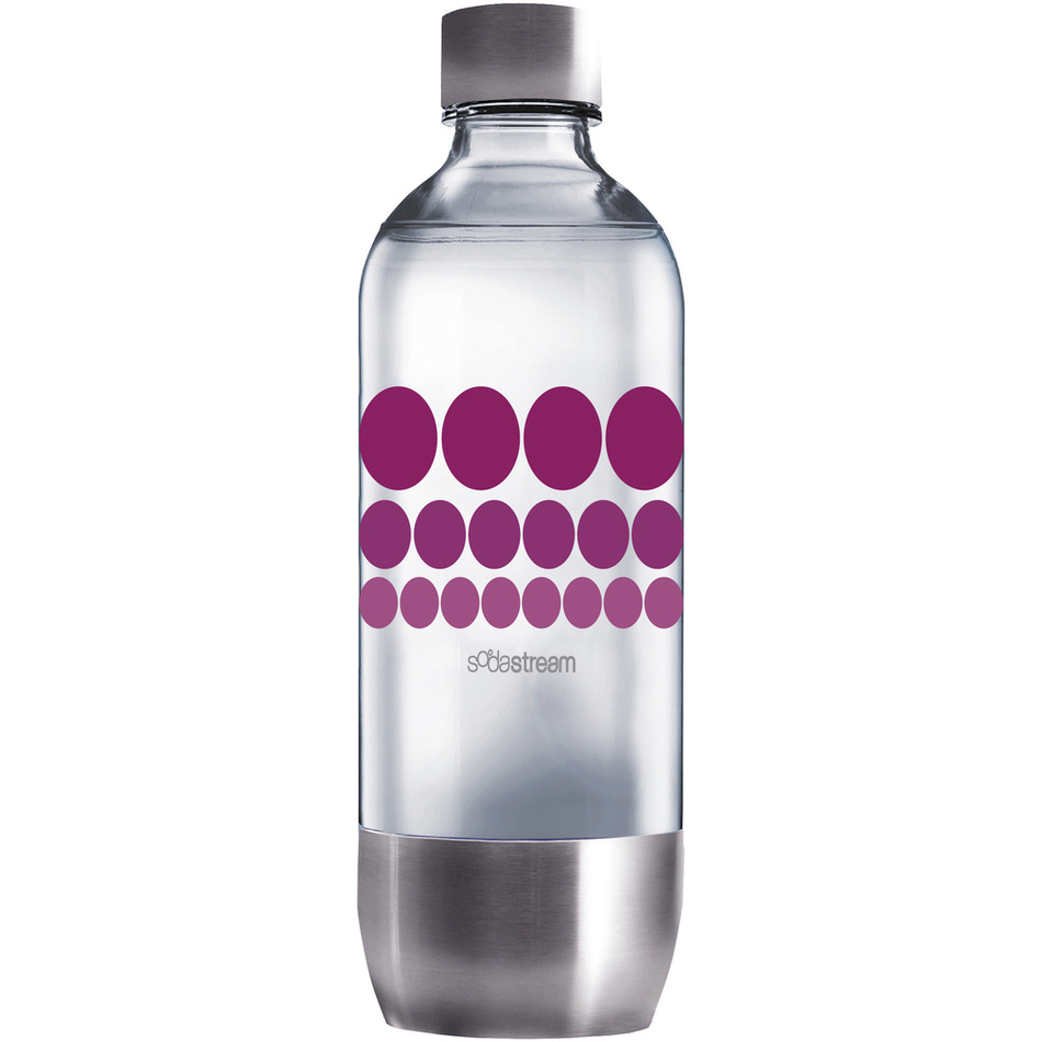 Sodastream Purple Metal Fľaša